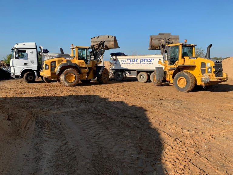 קבלן עבודות עפר ופיתוח באזור גן יבנה