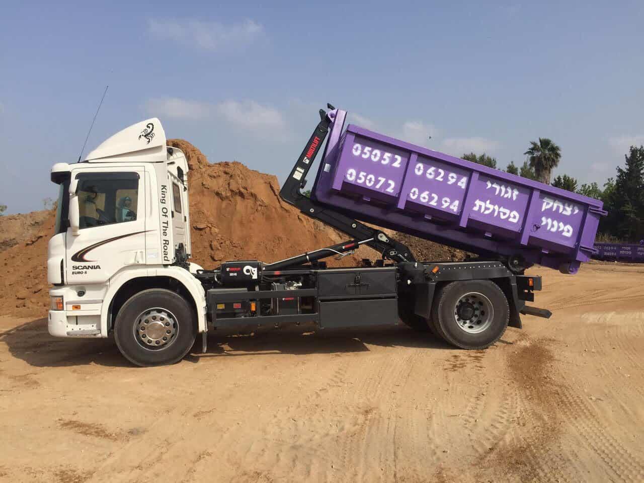 פינוי פסולת באזור אשדוד